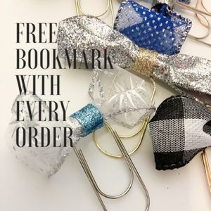 Free Paperclip Bookmark with every order.